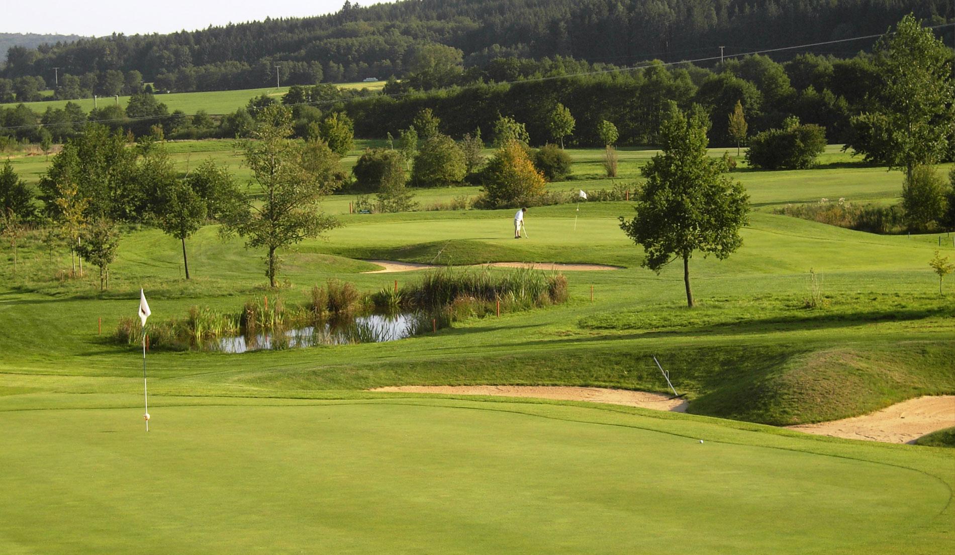 Overview of golf course named Golfclub Herrnhof e.V.