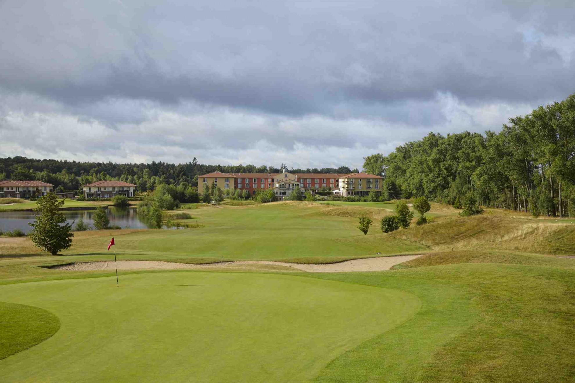 Overview of golf course named Castanea Resort Adendorf