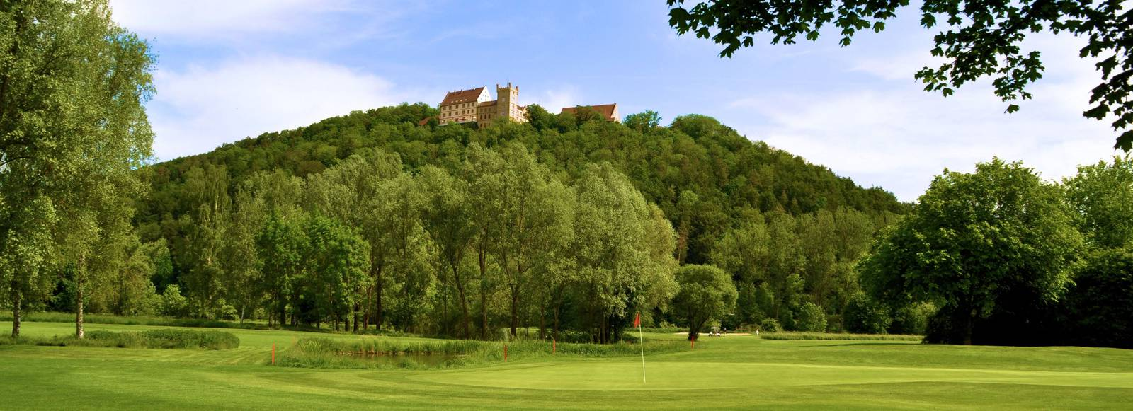 Overview of golf course named Gc Schloss Weitenburg