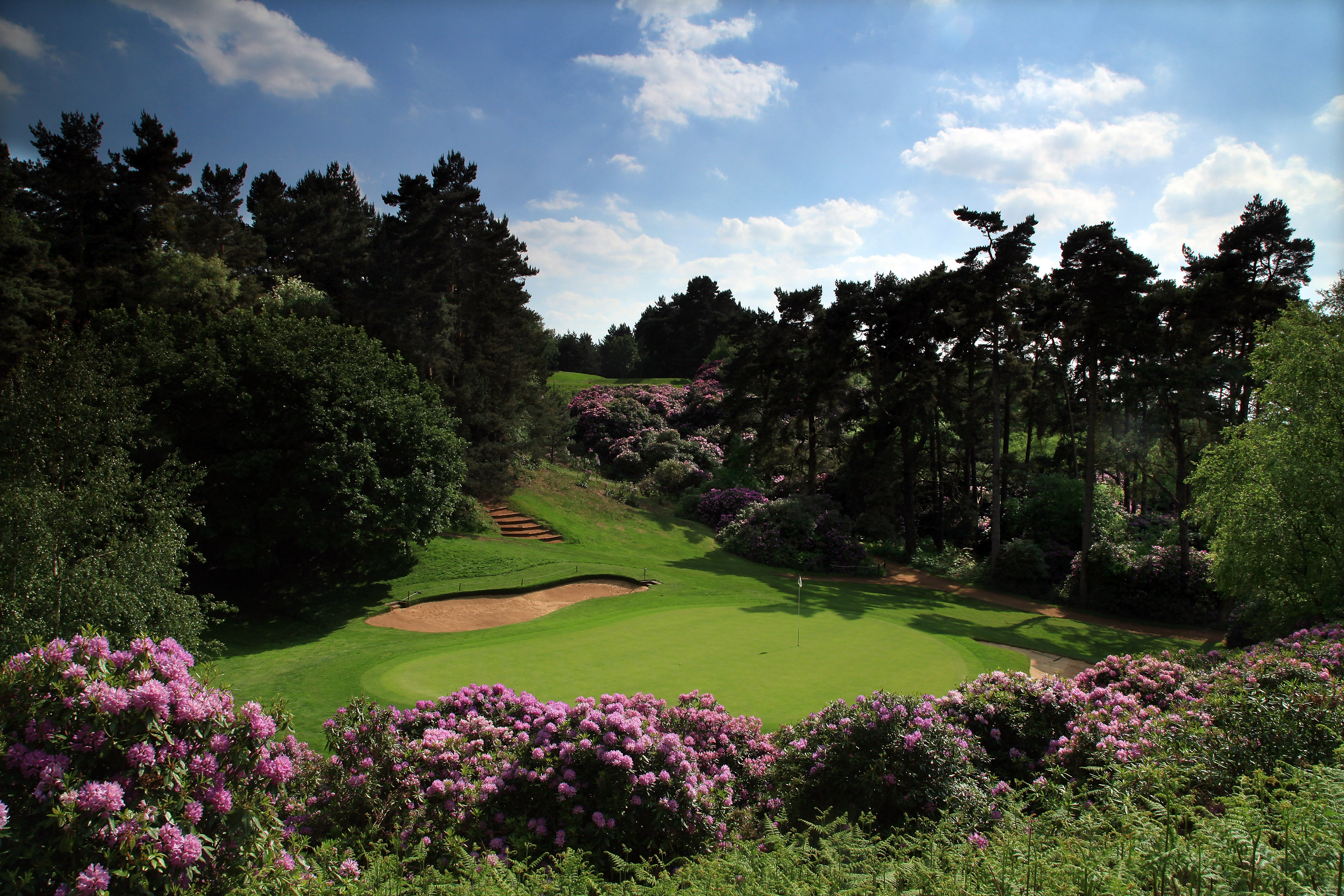 Overview of golf course named Woburn Golf Club - The Duke's Course