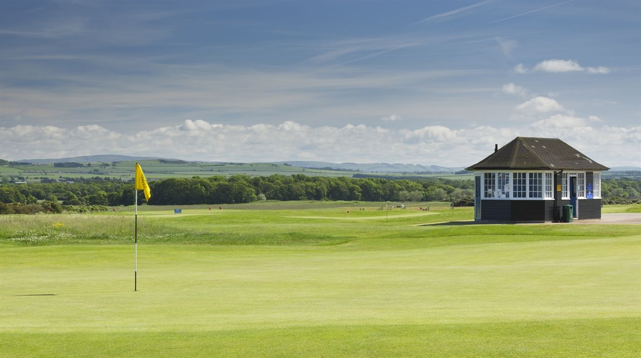 Gullane golf club course no cover picture