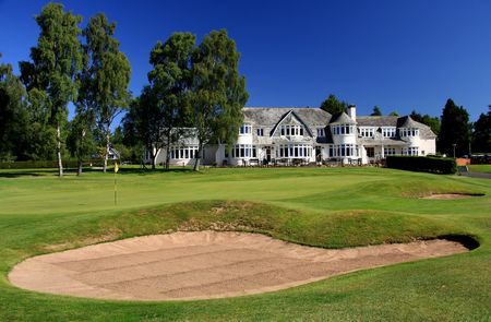 The blairgowrie golf club rosemount cover picture