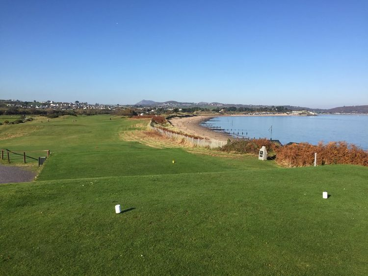 Abersoch golf club cover picture