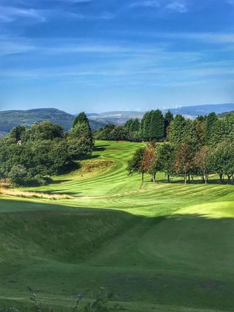 Pontypridd golf club cover picture