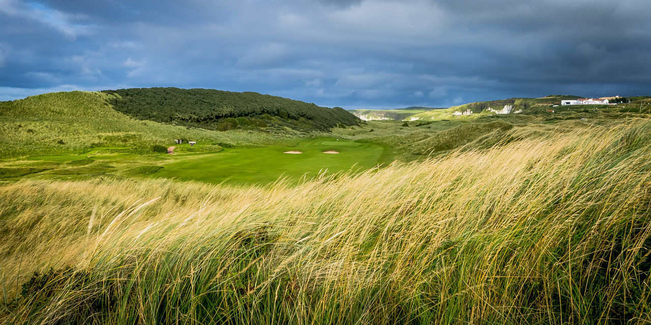 Royal portrush golf club valley course cover picture