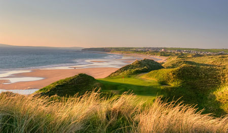 Overview of golf course named Ballybunion Golf Club - The Cashen Course