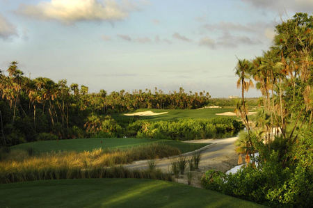 Overview of golf course named Riviera Cancun Golf Club