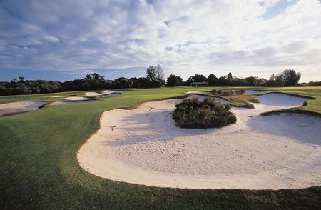Overview of golf course named Royal Melbourne Golf Club - East Course