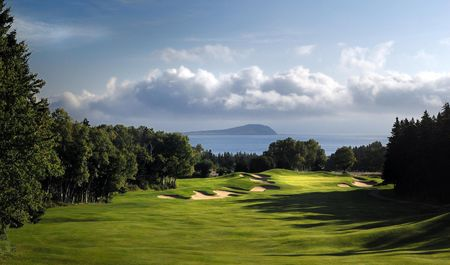 Overview of golf course named Cape Breton Highlands Links