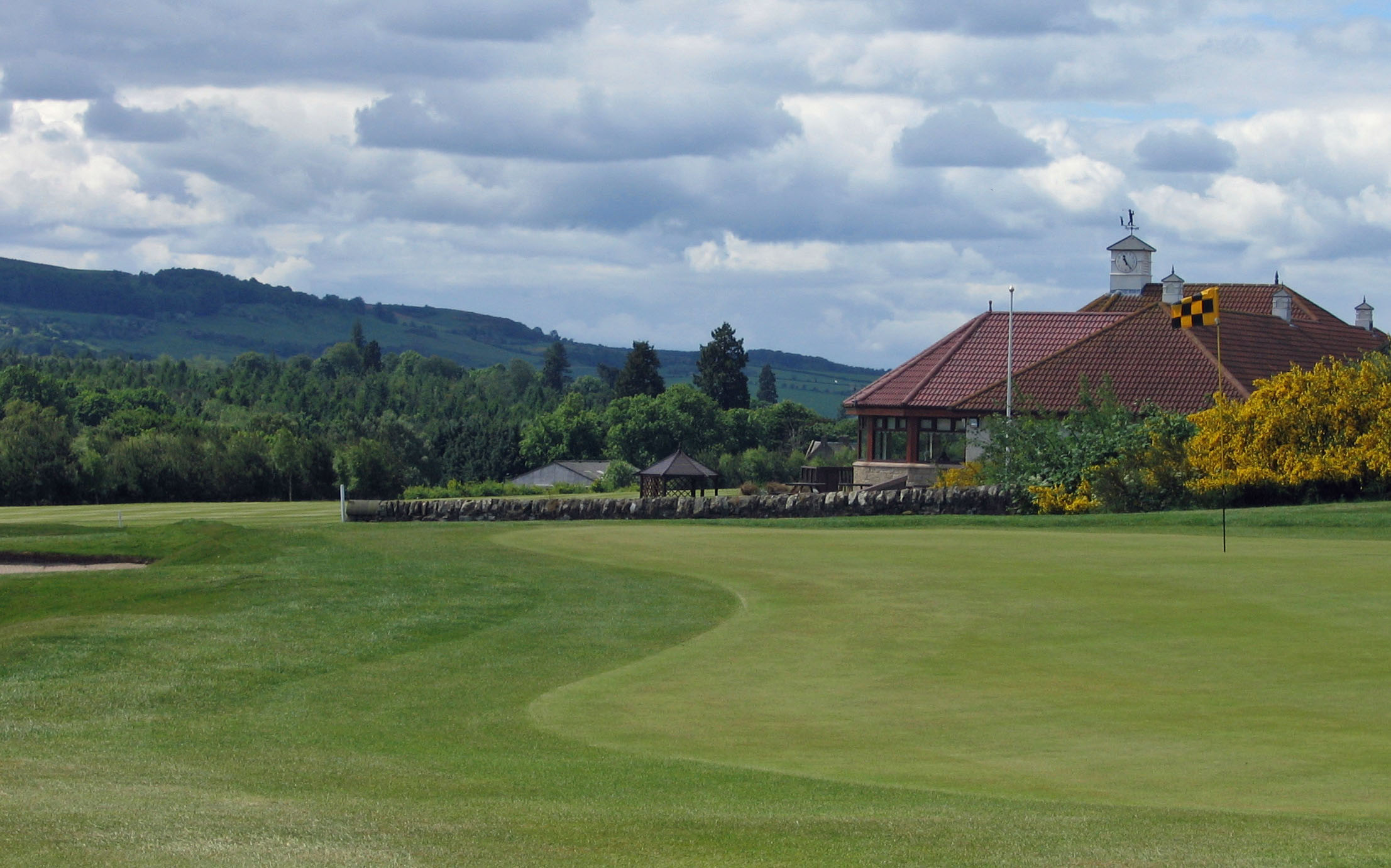 Overview of golf course named Elmwood Golf