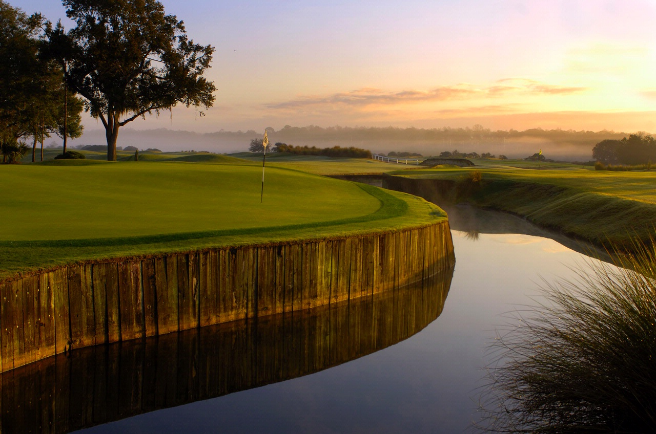Overview of golf course named Grand Cypress - New Course