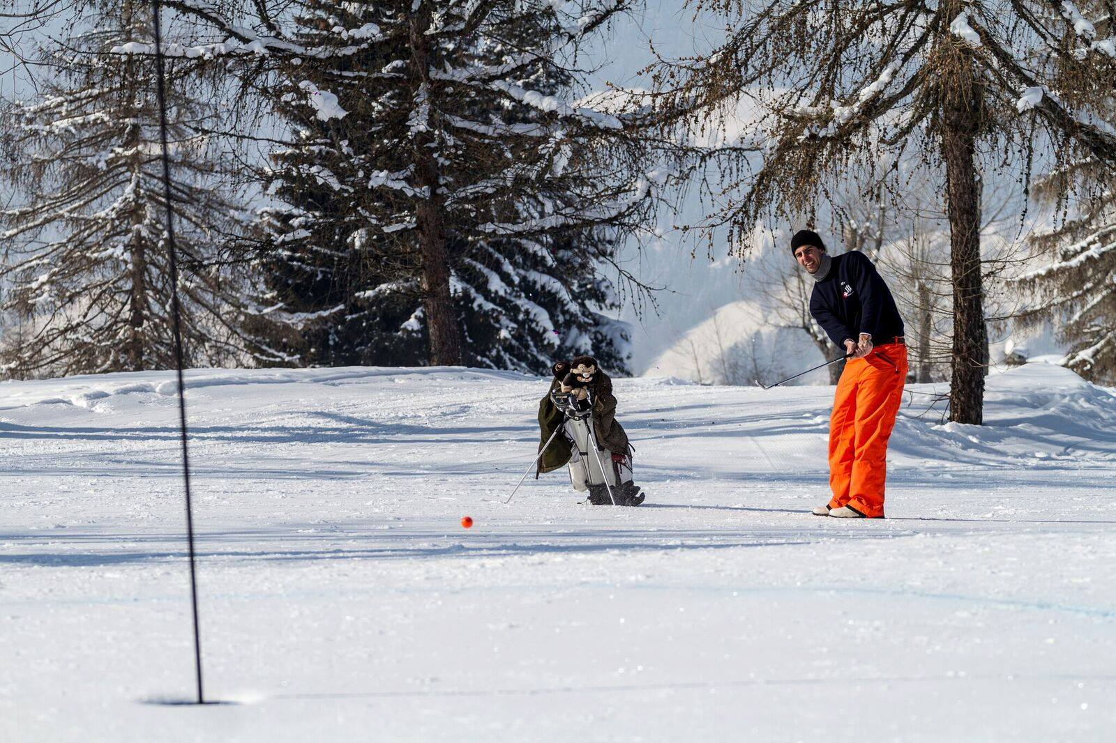 Cover of golf event named Winter Golf Cup