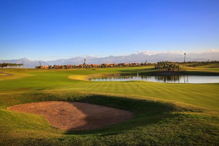 Overview of golf course named Palmgolf Marrakech Ourika
