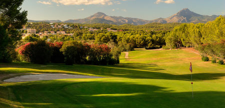 Overview of golf course named Club de Golf Santa Ponsa I