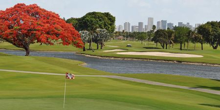 Overview of golf course named International Links Miami