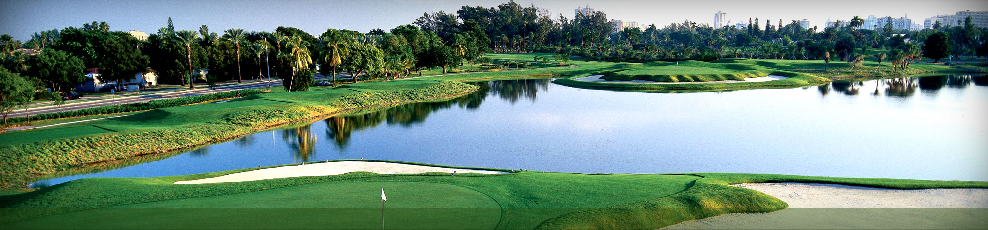 Overview of golf course named Miami Beach Golf Club