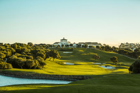 Overview of golf course named La Reserva Sotogrande