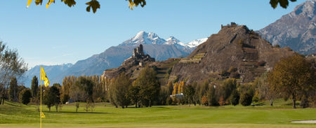 Overview of golf course named Golf Club de Sion