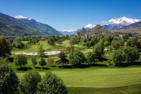 Hosting golf course for the event: Single Sédunois