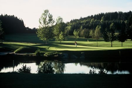 Overview of golf course named Golfclub Bohmerwald