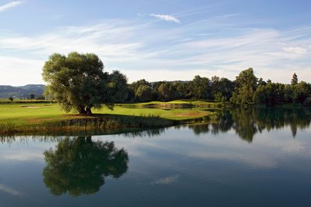 Overview of golf course named Golf Club Donau Freizeitland Linz Feldkirchen