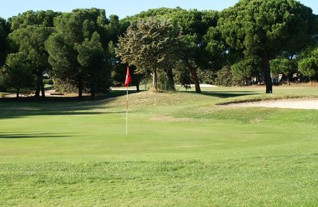 Overview of golf course named Campo de Golf de Somosaguas