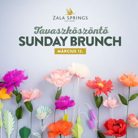 Cover of golf event named Spring - Sunday Brunch