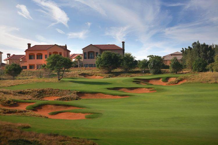 Jumeirah golf estates fire course cover picture
