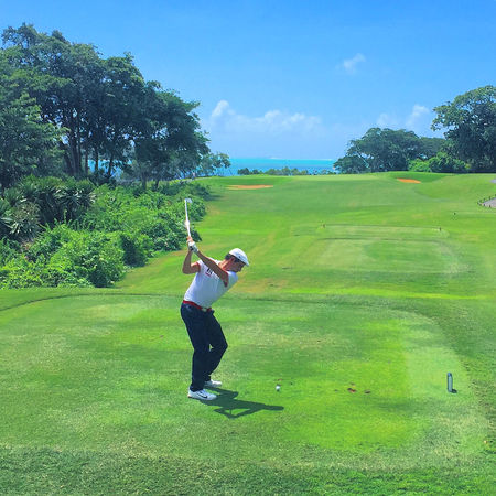 Four seasons golf club mauritius at anahita julien tizot checkin picture