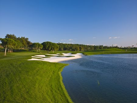 Overview of golf course named Quinta Do Lago - Laranjal