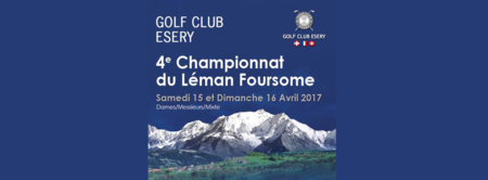 Cover of golf event named Championnat du Léman Foursome