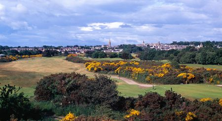 Overview of golf course named Nairn Dunbar Golf Club