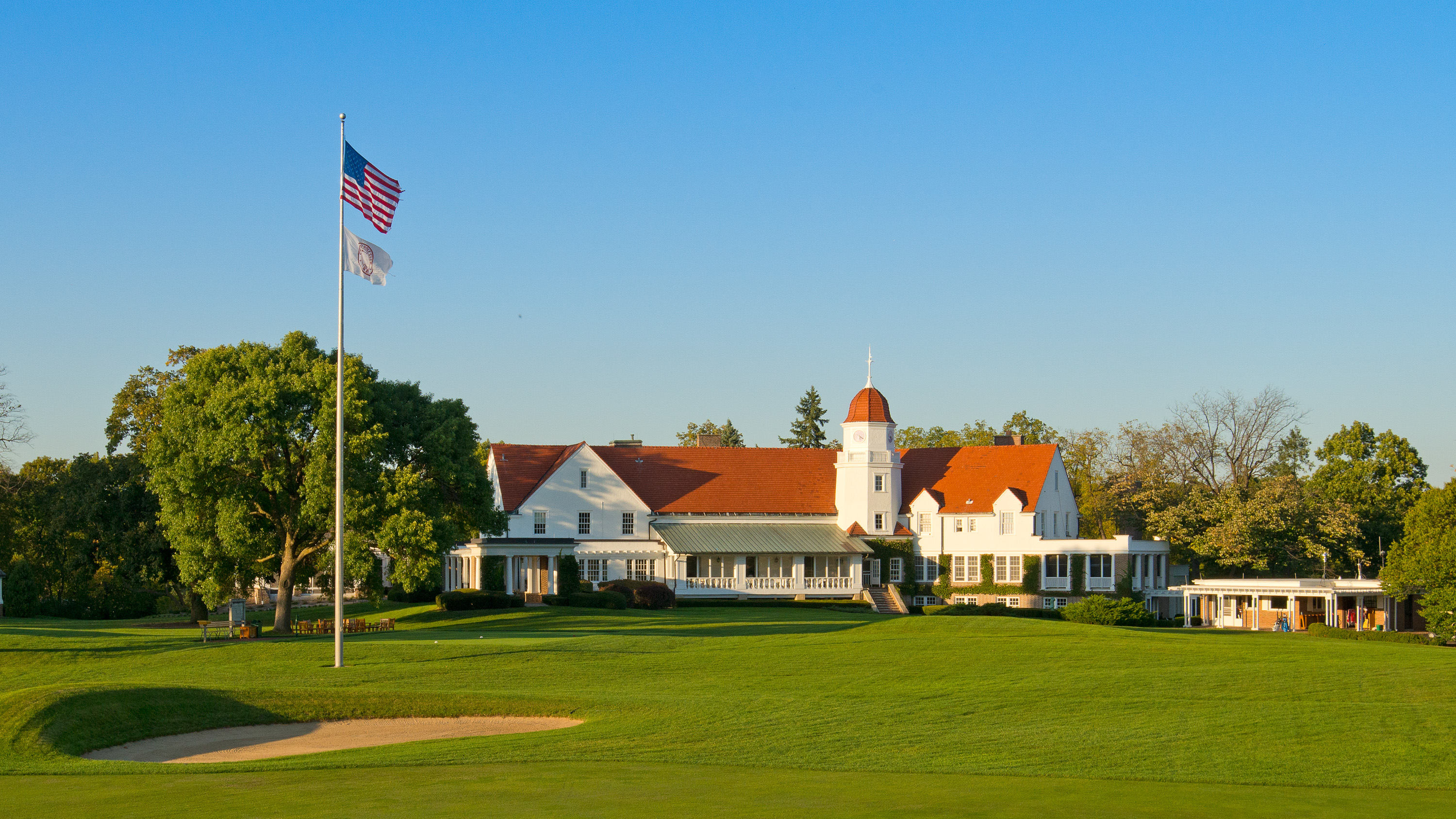 Overview of golf course named Chicago Golf Club