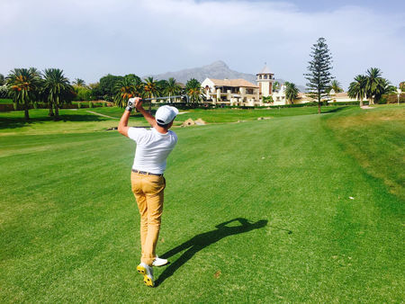 Avatar of golfer named Oscar Checa