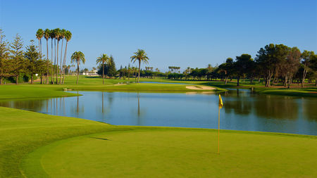 Overview of golf course named Real Club de Golf Sotogrande