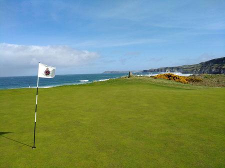 Royal portrush golf club dunluce course julien tizot checkin picture