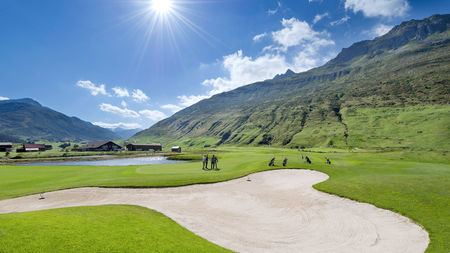 Overview of golf course named Andermatt Swiss Alps Golf Course