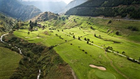 Overview of golf course named Golf Club Sedrun
