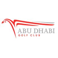 Logo of golf course named Abu Dhabi Golf Club