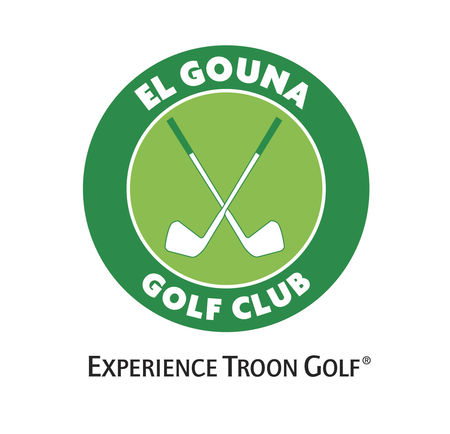 Logo of golf course named El Gouna Golf Club