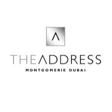 Logo of golf course named The Address Montgomerie Dubai