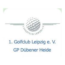 Logo of golf course named 1. Golfclub Leipzig