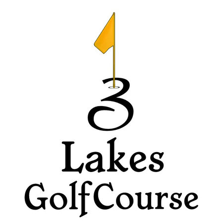 Logo of golf course named 3 Lakes Golf Course