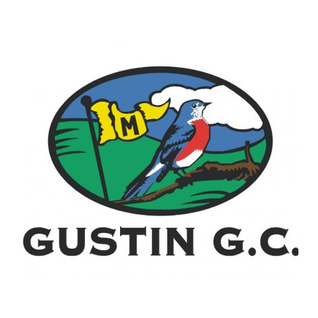 Logo of golf course named A. L. Gustin Golf Course