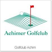 Logo of golf course named Achimer Golfclub