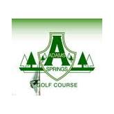 Logo of golf course named Adams Springs Golf Course