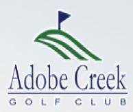 Logo of golf course named Adobe Creek Golf Course