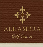 Logo of golf course named Alhambra Golf Course