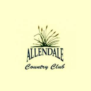 Logo of golf course named Allendale Country Club