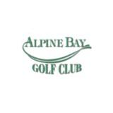 Logo of golf course named Alpine Bay Resort